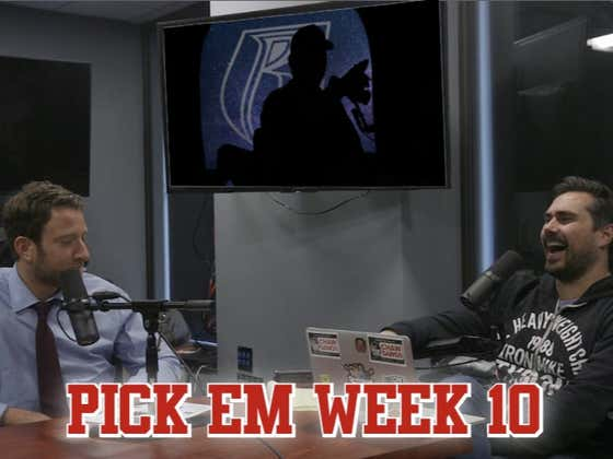 Barstool Pick Em Week 10 Full Video