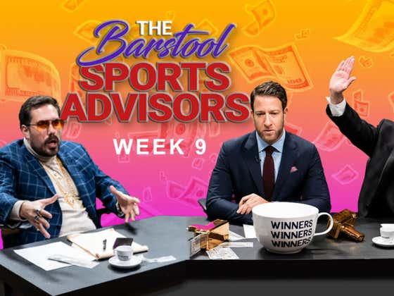 """Barstool Sports Advisors NFL Week 9 """"The Stu Show"""""""