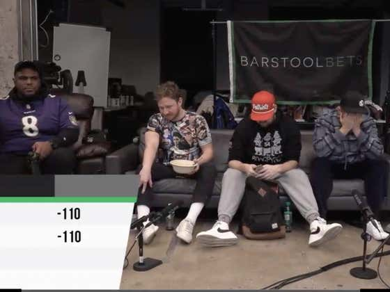 Gambling Cave Live Blog | Full Video: Patriots vs Ravens