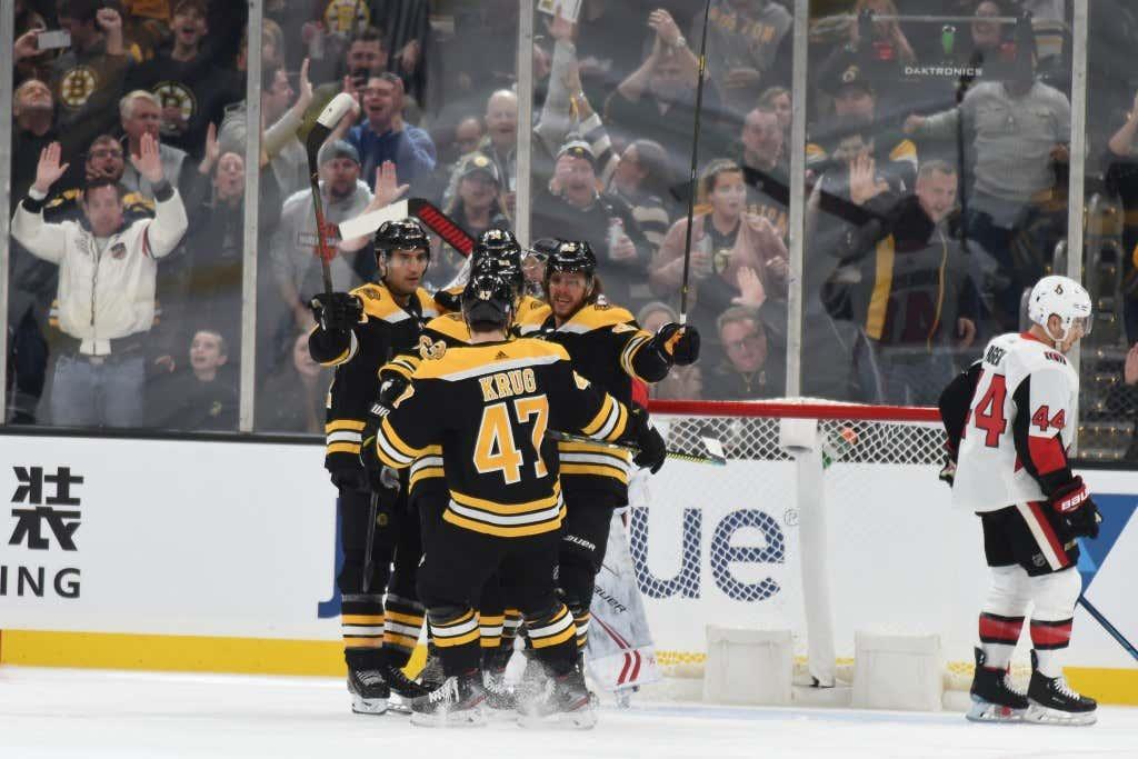 Ottawa Sentors v Boston Bruins