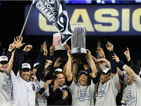 On This Date in Sports November 4, 2009: Yankees at 27