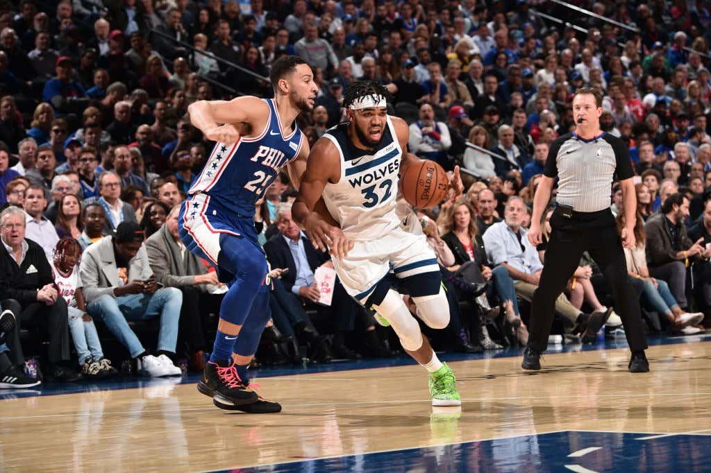 Minnesota Timberwolves v Philadelphia 76ers