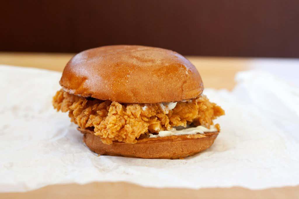 2. Fried Chicken Sandwich at Popeye's