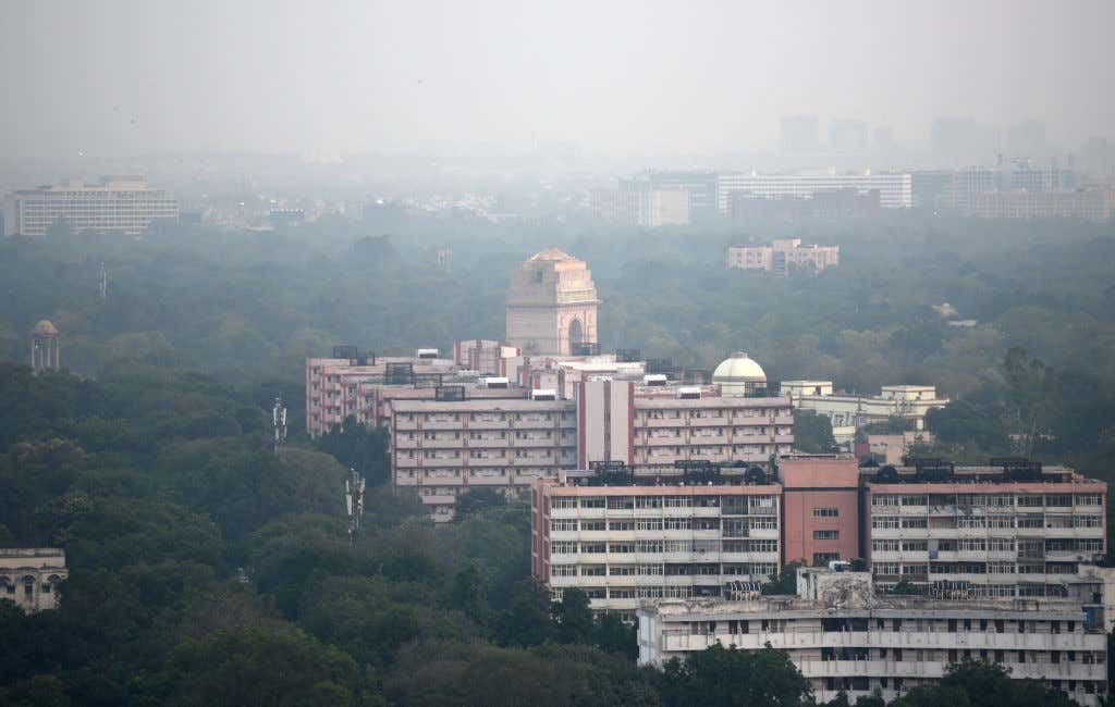 Winds Bring Little Respite From Air Pollution In Delhi NCR