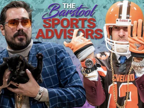 Barstool Sports Advisors NFL Week 10 Featuring Ben Sharpiro