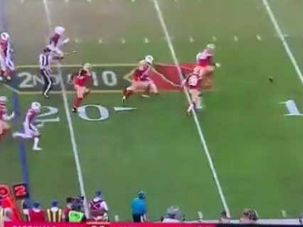 49ers Closed At -9.5 At Westgate And Covered On This Last Second TD