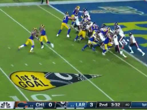 Todd Gurley Was +500 To Score The First TD In Tonight's Game