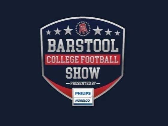 REPLAY: Barstool College Football Show presented by Philips Norelco - Week 13