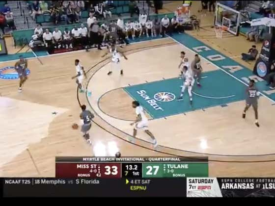 Big time three by Miss St to cover 1H -6.5