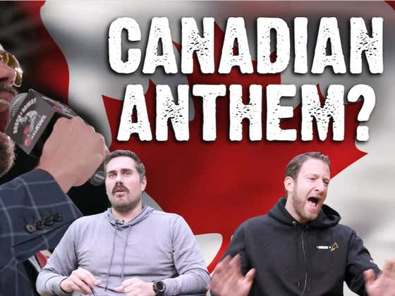 """I'm Officially Singing """"O, Canada!"""" TONIGHT With Boston Vs Montreal Leading Off The RnR 10 PPV"""