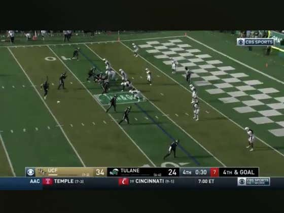Tulane scores on 4th and goal with under a minute to play to cover +7
