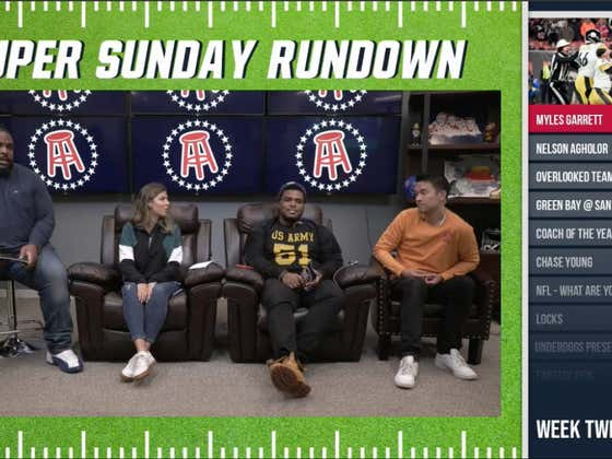 Super Sunday Rundown - Week 12
