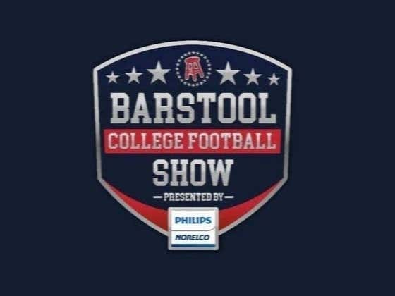 REPLAY: Barstool College Football Show presented by Philips Norelco - Week 14