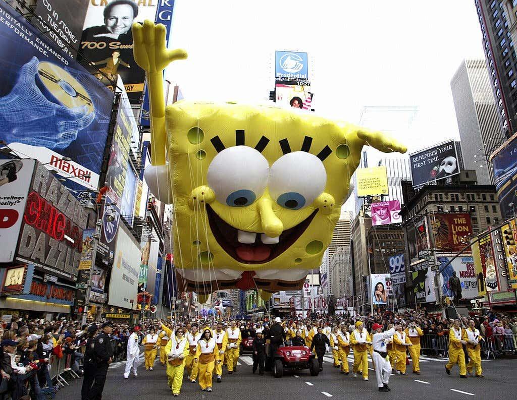 SpongeBob SquarePants, the newest balloo
