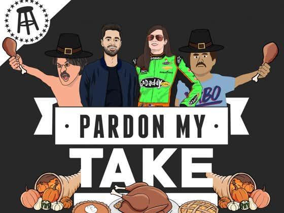 PMT: Thanksgiving Double Episode, Danica Patrick, Hasan Minhaj + Football