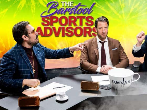 Barstool Sports Advisors NFL Week 13