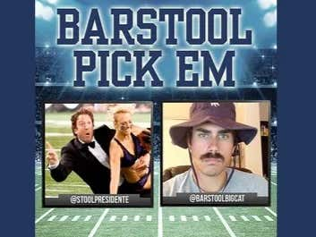 Barstool Pick Em Week 14 Results