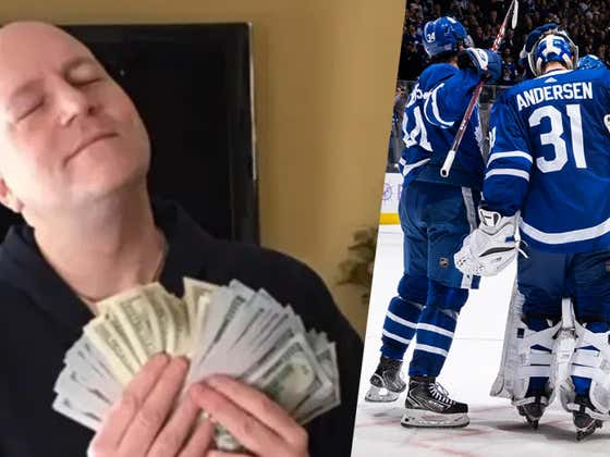 Rear Admiral's Gambling Corner: Make It A Knights Night And Go Leafs Go