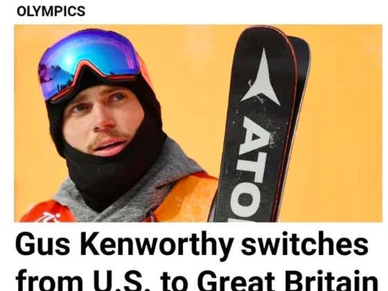 TRAITOR! Gus Kenworthy Leaves U.S. Olympic Team And Will Ski For Great Britain In 2022