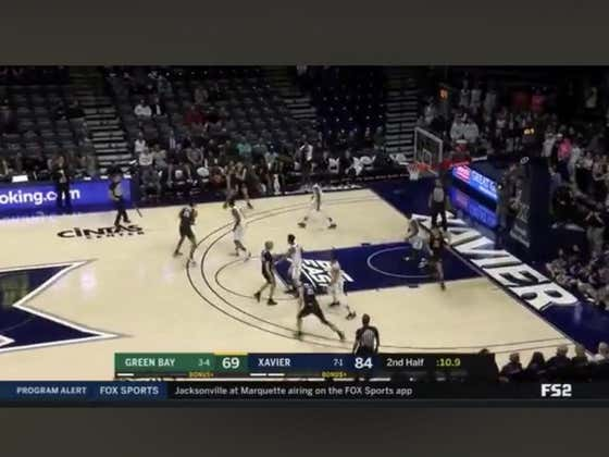 Green Bay hits a jumper on the final shot of the game to hit the over (153)