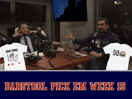 Barstool Pick Em Week 15 Full Video