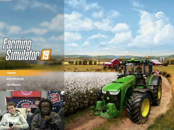 Common Man Gaming Getting Into Farming Simulator Today...