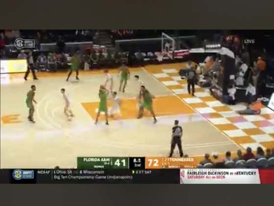 FAMU hits a layup in the final seconds to cover +30