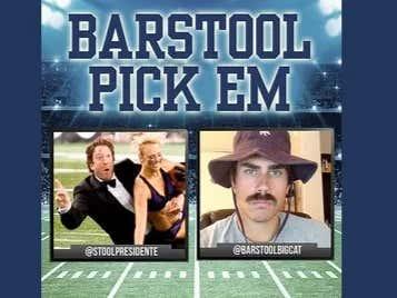 Barstool Pick Em Championship Weekend Cards