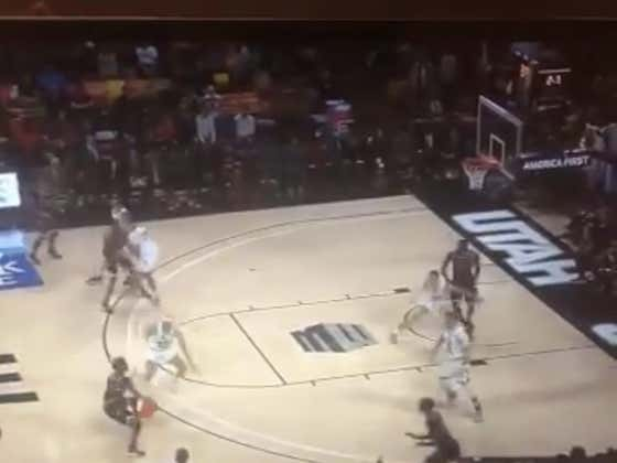 Fresno State (+750) hits this crazy shot to force OT
