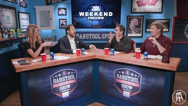 REPLAY: Barstool College Football Show presented by Philips Norelco - Week 15
