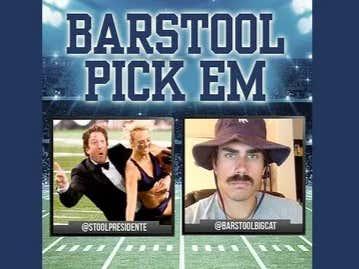 Barstool Pick Em Championship Weekend Results