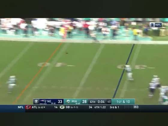 On this day last year the Dolphins pulled off a miracle on the final play of the game to beat the Patriots outright (+375) 34-33.