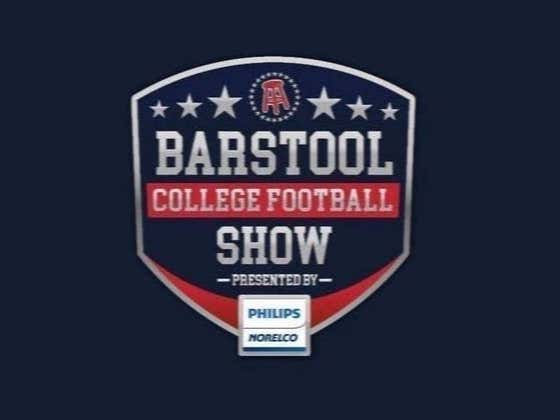 REPLAY: Barstool College Football Show presented by Philips Norelco - LIVE at Army vs. Navy