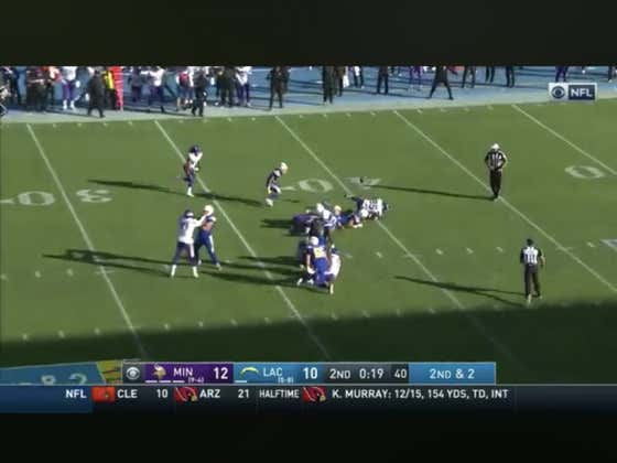 Vikings take a Phillip Rivers fumble to the house in the final seconds of the half to hit the 1H over (22.5)