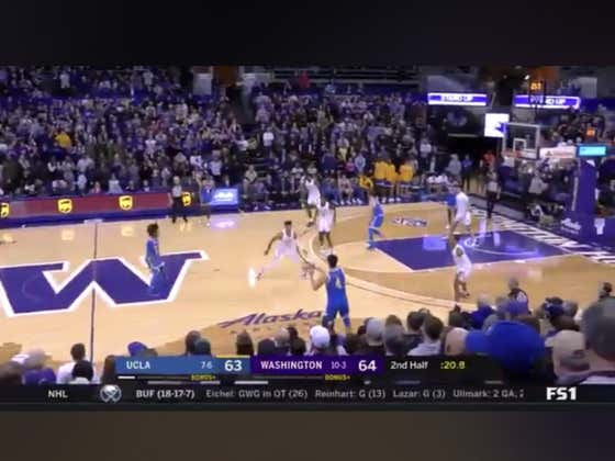 UCLA (+320 ML) hits the game winner with 8 seconds left in the game to beat Washington 66-64