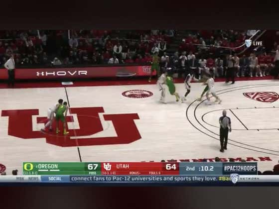 Oregon with a dunk in the final seconds of the game to win by 5.   They closed as 4.5-point favorites against Utah