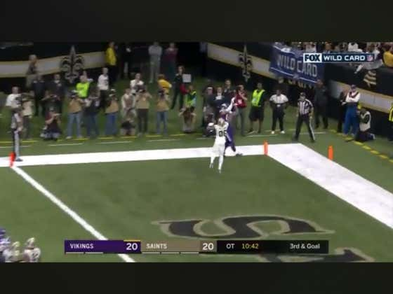 Vikings (+290) beat the Saints 26-20 in overtime