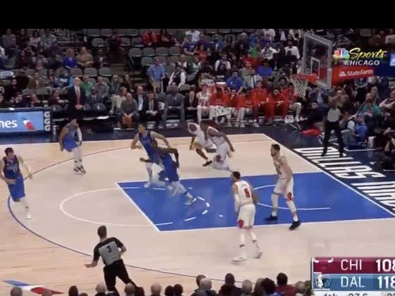 Luka misses twice at the line, then the Bulls go down and get two consecutive offensive rebounds with a put back dunk to cap off a push (+8)