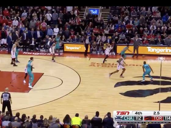 Last March, the Hornets trailed by 2 with three seconds to play. A Jeremy Lamb heave at the buzzer wins the game for Charlotte (+550 ML)