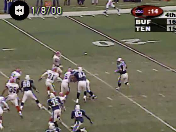 20 years ago today, The Titans (-4) pulled off the Music City Miracle down one against Buffalo with 16 seconds to play.