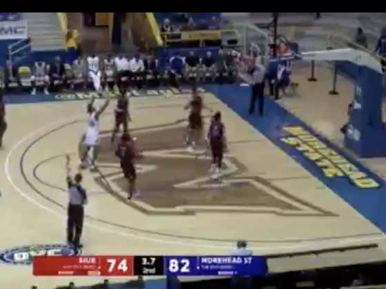 SIUE hits a three at the buzzer to cover +8