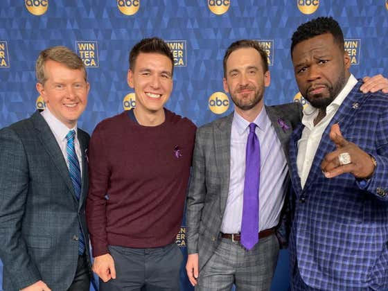 50 Cent Gave The Jeopardy GOATs Some Really Strong Advice