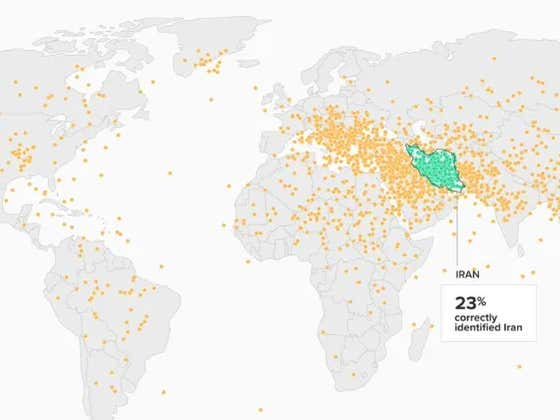 If Someone Asked You Where Iran Was, How Wrong Would You Be?