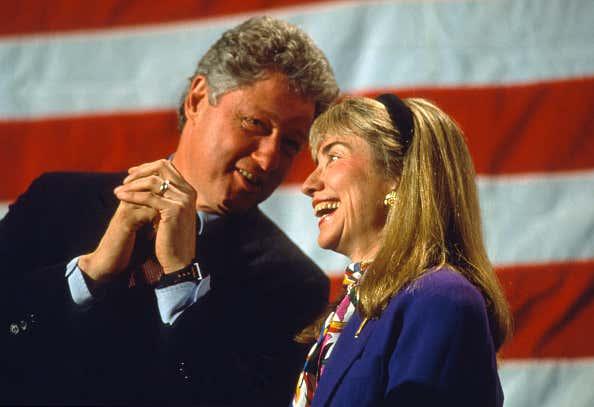 Bill Clinton Campaigns in New Hampshire