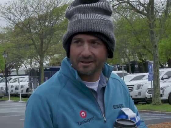 ALERT: Kevin Kisner Is Leading The Golf Tournament