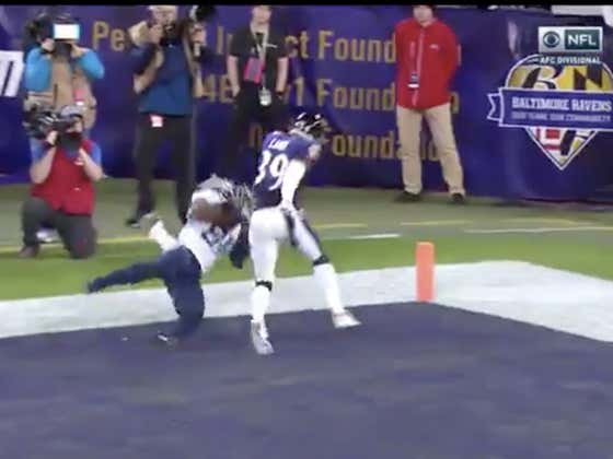 Jonnu Smith was +2400 to score the first TD of the game.   Titans (+10) take a 7-0 on the Ravens.