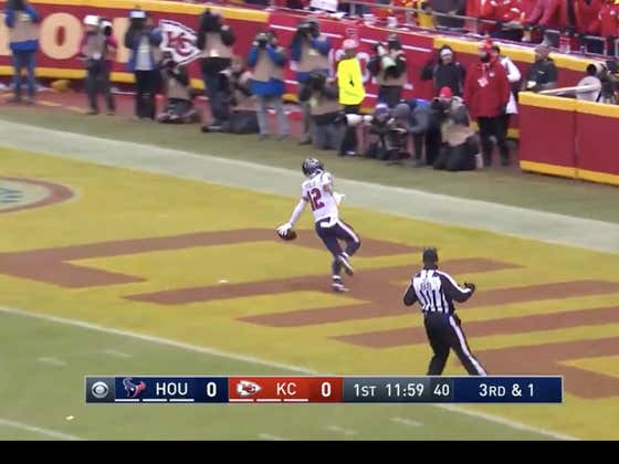 Kenny Stills was +1400 to score the first TD of the game.  Texans (+10) take a quick 7-0 lead.
