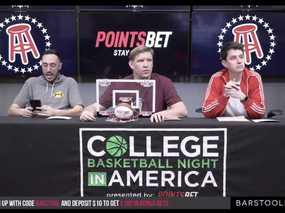 Gambling Cave Live Blog   Full Video Replay: College Basketball Night in America