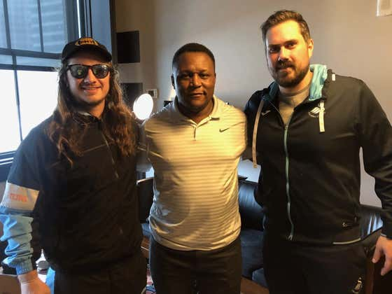 PMT: Barry Sanders + Colts LB Darius Leonard + Our Role In OBJ Gate