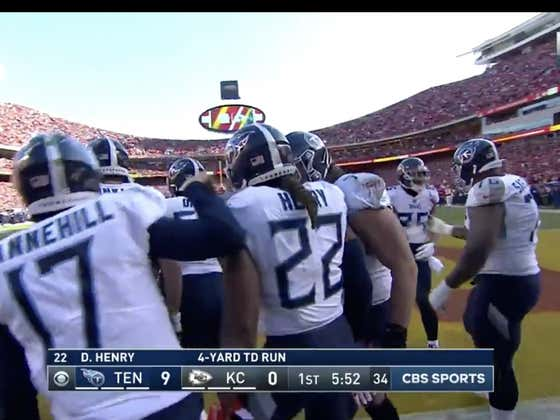 Derrick Henry was +600 to score the first TD of the day